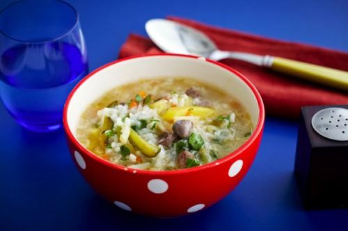 5 Рецептів супів з курячими потрошками