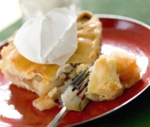 Абрикосово-імбирний пиріг з горіхами і глазур'ю