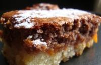 Абрикосовий кекс-двошаровий пиріг