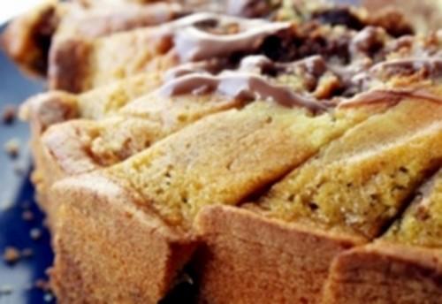 Американський пиріг з горіхами і медом «Еспрессо»