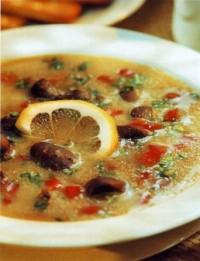 Англійська суп з нирок