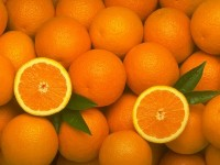 Апельсиновий компот з чорницею