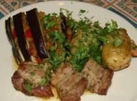 «Бабай байилди» - м'ясо з баклажанами і овочами по-турецьки