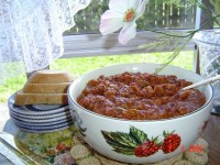 Баклажаново-томатна приправа