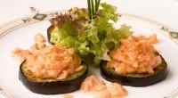 Баклажани зі сметанним соусом