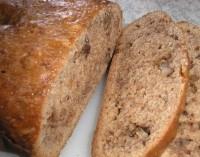 Бананово-горіховий хліб на швидку руку
