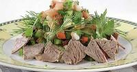 Басків салат з телятиною