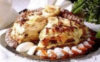 Млинцевий пиріг по-казахському