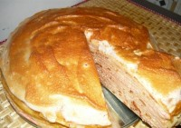 Млинцевий пиріг «Татарський»