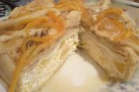 Млинцевий торт з апельсином