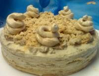 Млинцевий торт з маскарпоне