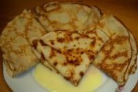 Млинці на сирі