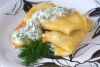 Млинці з салатом