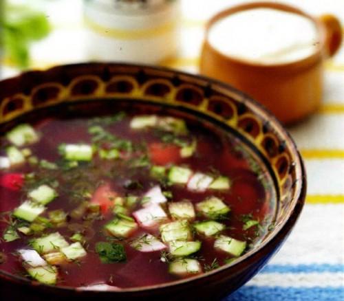 Ботвинья - варіанти літнього супу