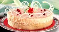 Брусничний торт