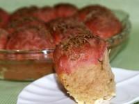 Булочки буряково-масляні з часником
