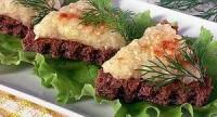Бутерброд з бринзою і картоплею