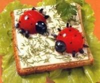 Бутербродики з сиром і сиром