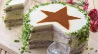 Бутербродний торт до 23 лютого