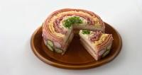 Бутербродний торт «по-польськи»