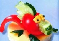 Бутерброди новорічні «Дракон»