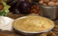 Швидка піца з шинкою і картоплею