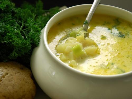 Часниковий суп: імунітету заради і для смаку