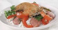 Курча з рисом по-баскськи