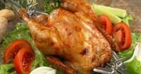 Курчата з естрагоном на шампурах