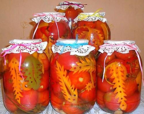 Делікатесні помідори на зиму - 5 рецептів