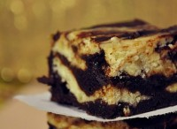 Десерт «Сирно-банановий брауні»