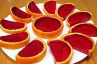 Десерт «Вишневі апельсинчики»