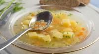 Дитячий картопляний суп з макаронами