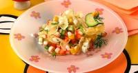 Дитячий святковий салат «Бантики»