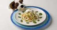 Дитячий святковий салат «Золота рибка»