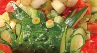 Дитячий салат «Кораловий риф»