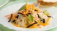 Дитячий салатик з сухофруктами