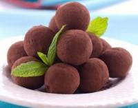 Домашні шоколадні трюфелі з коньяком