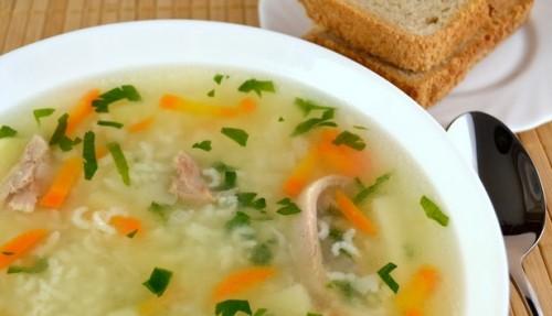 Домашній суп з качкою