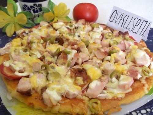 Домашня піца, рецепт приготування з фото