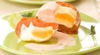Фаршировані яйцем помідори