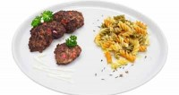 Квасоля, смажена з овочами (2)