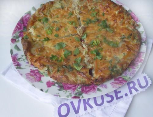 Фріттата з картоплею, рецепт приготування з фото