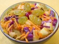 Фруктово-овочевий дитячий салатик