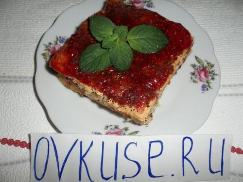 Фруктовий пиріг «Паличка-виручалочка»