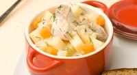 Горбуша з морквою і картоплею по-домашньому