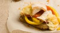 Гарячі бутерброди з курячим філе