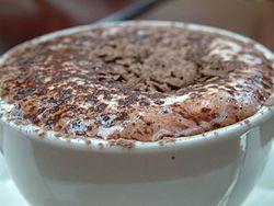 Гарячий шоколад з бренді
