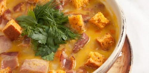 Горохові супи з копченостями: 4 кращих рецепта