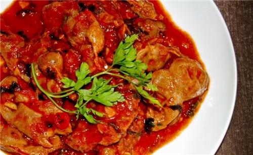 Готуємо курячі шлуночки: 6 цікавих рецептів других блюд